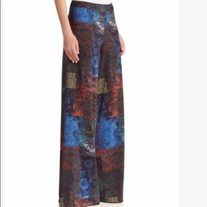 Alice and Olivia Super flowy wide leg pant